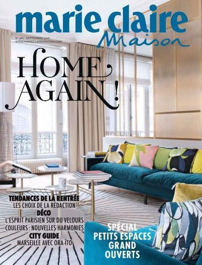 Marie Claire Maison France N 487 Septembre 2016