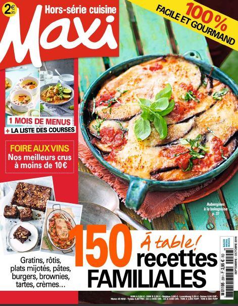 Maxi Hors Série Cuisine - Septembre-Octobre 2016