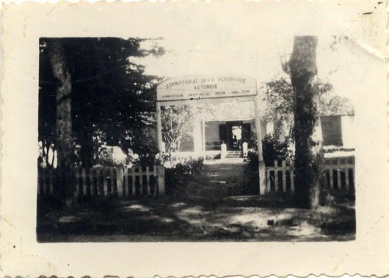 la vie d'un gendarme en poste en Indochine en 1948 160817062458831643