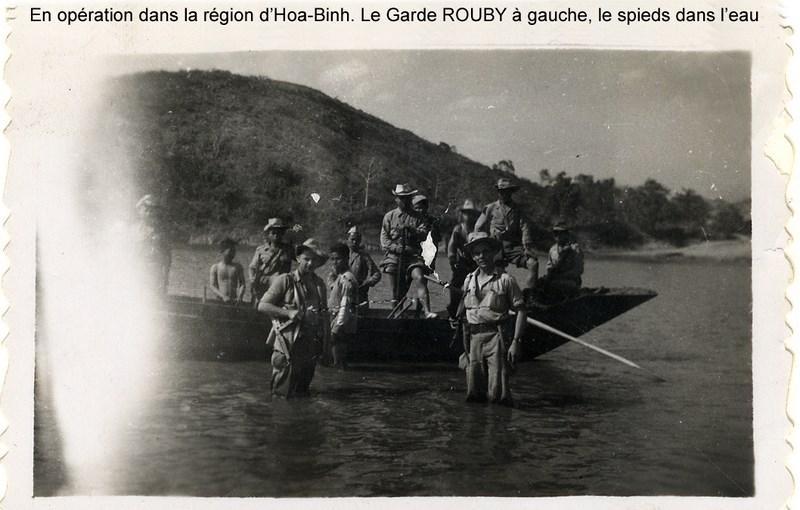 la vie d'un gendarme en poste en Indochine en 1948 160817064946815287