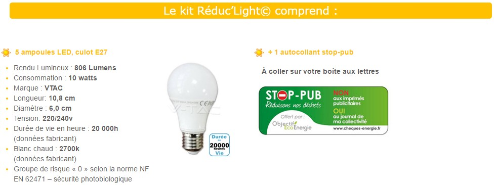 5 Pack Leds Gratuitsous ConditionsTests Et De Ampoules Bons uTOXkZilwP