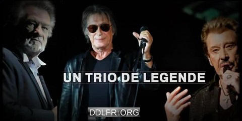 Hallyday Mitchell Dutronc Un Trio De Légende