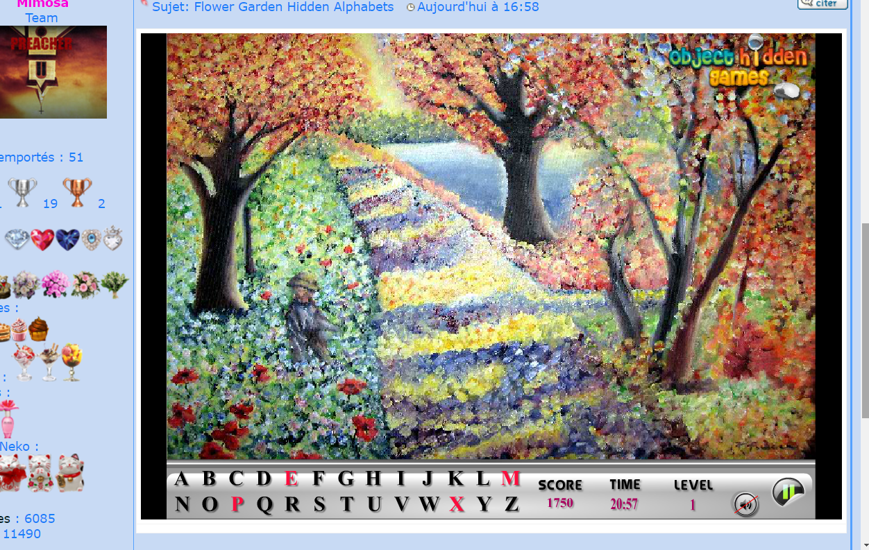 Flower Garden Hidden Alphabets 160904064455673952