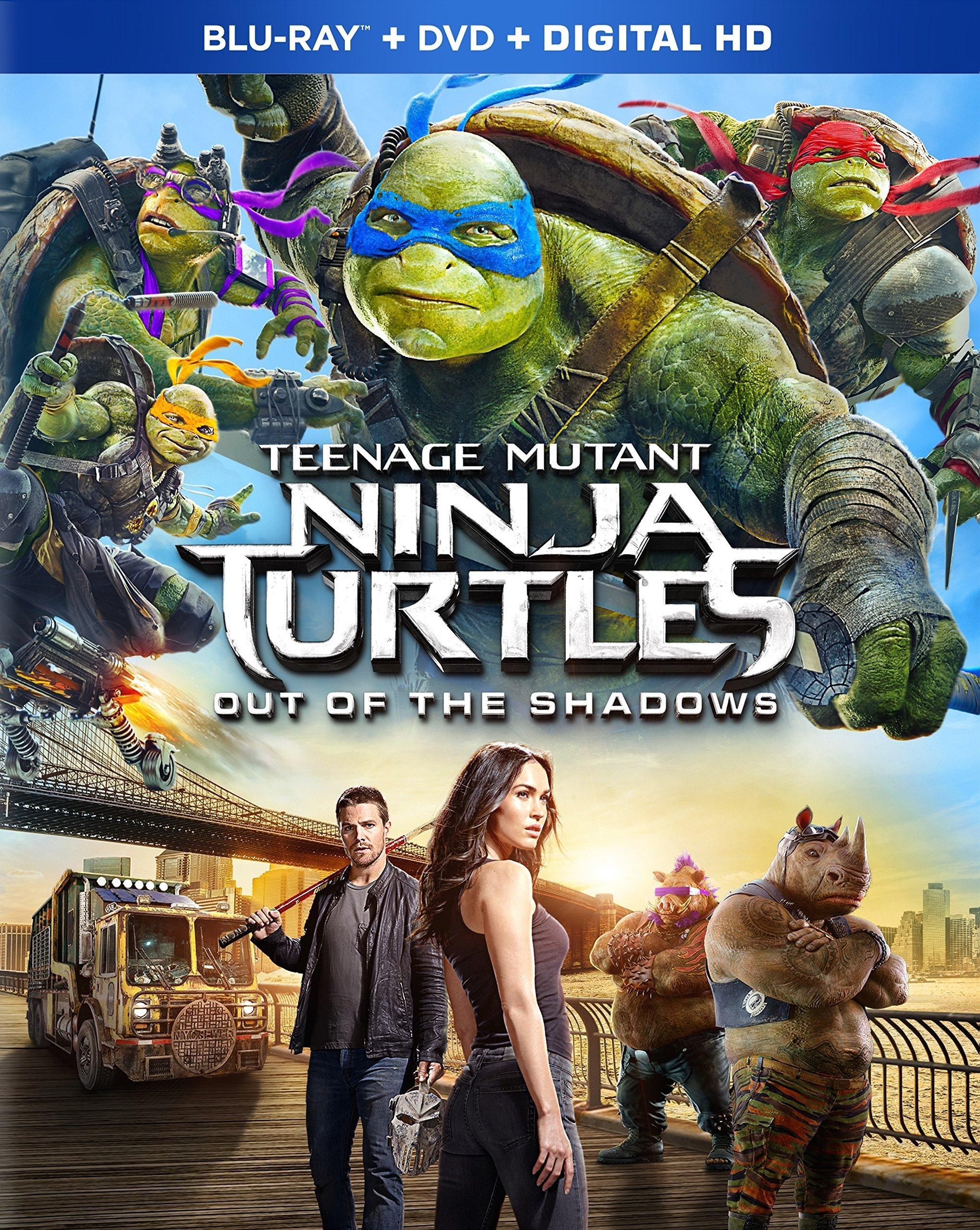 Teenage Mutant Ninja Turtles: Out of the Shadows (2016) poster image