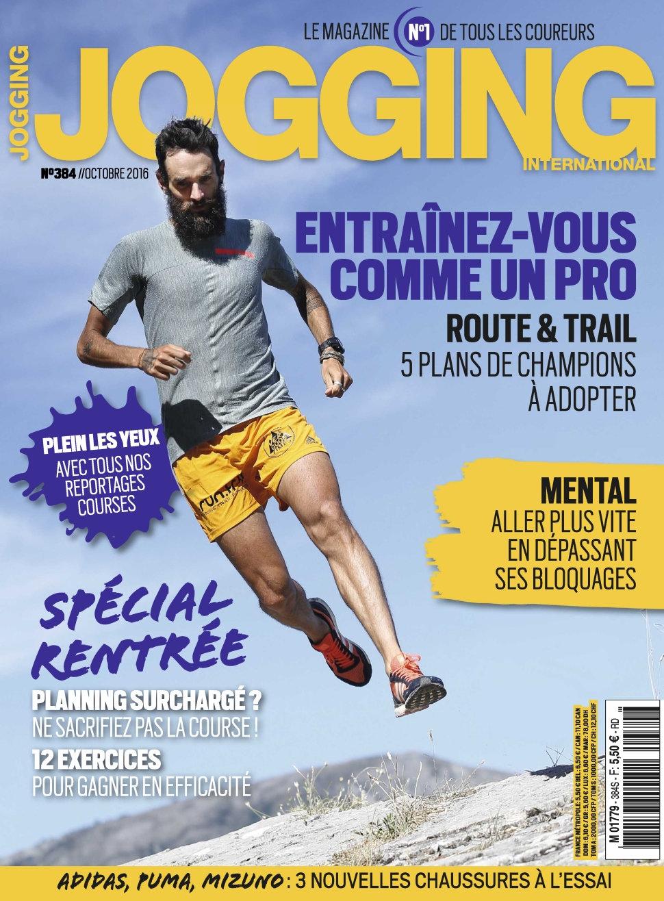 Jogging International N°384 - Octobre 2016