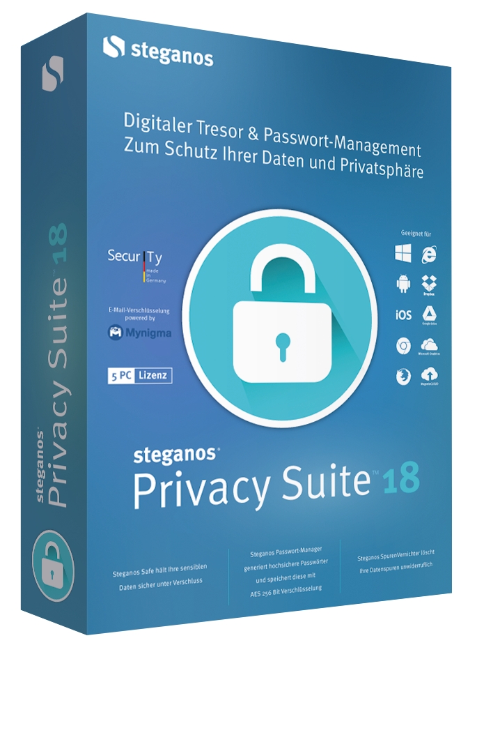 Poster for Steganos Privacy Suite v18.0.0.12007