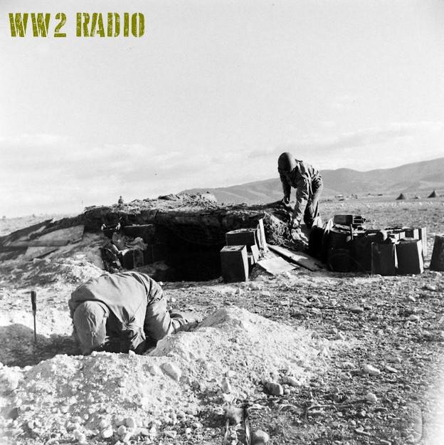 Poste de commandement avancé - Tunisie - 1943 160919071200710121