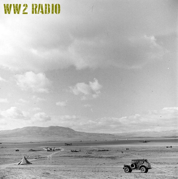 Poste de commandement avancé - Tunisie - 1943 160919071203134791