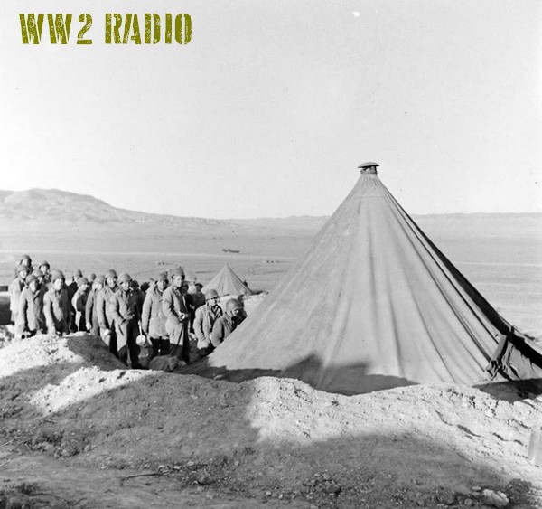 Poste de commandement avancé - Tunisie - 1943 160919071204434336