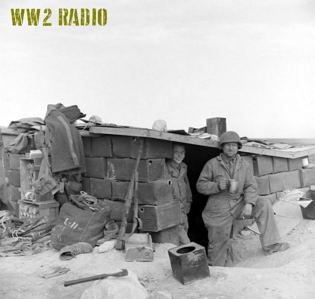 Poste de commandement avancé - Tunisie - 1943 160919071207967537