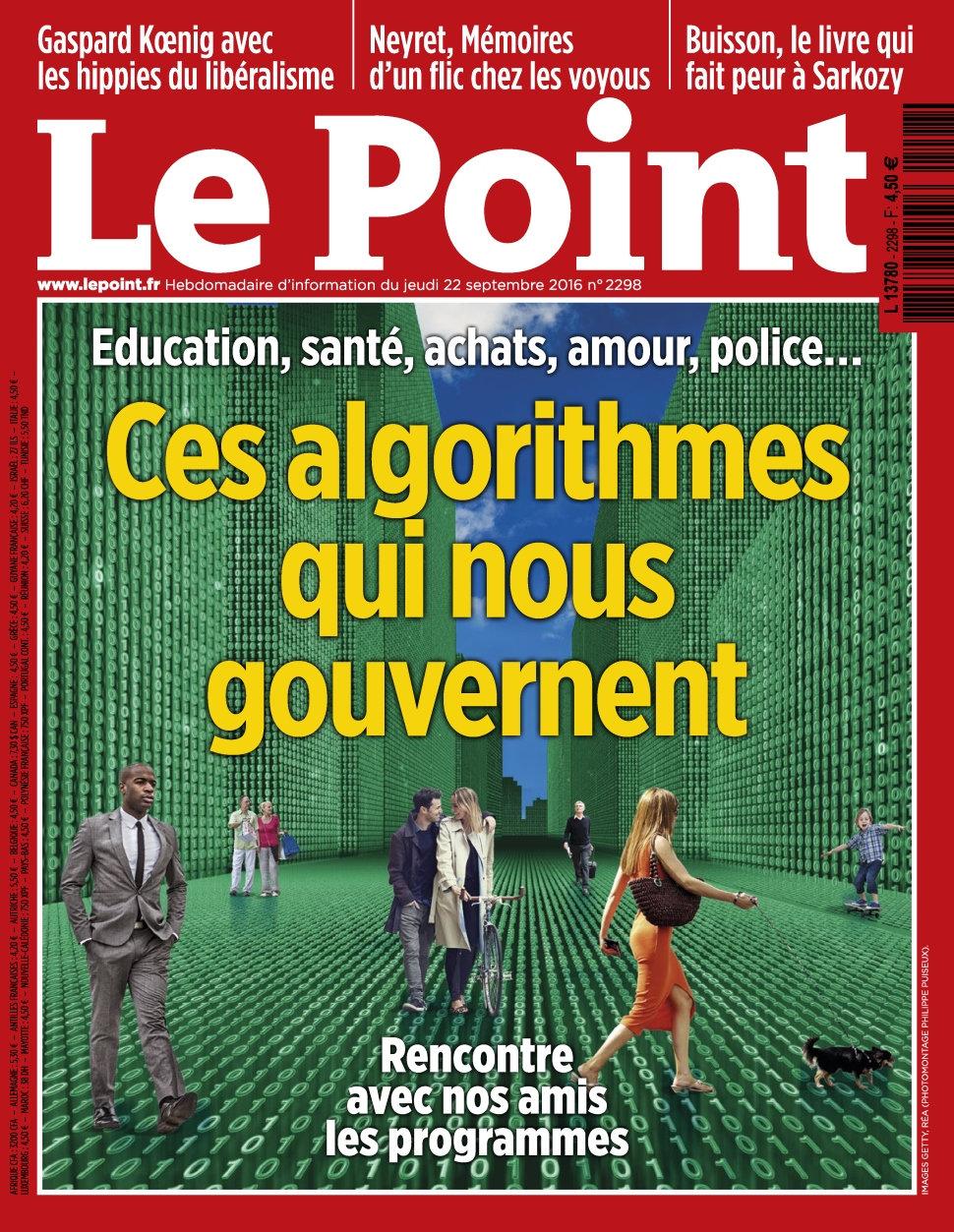 Le Point N°2298 - 22 au 28 Septembre 2016