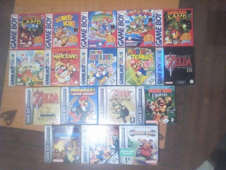 [EST] Quelques jeux GB, GBC, GBA pour mise en vente 160921100349785229