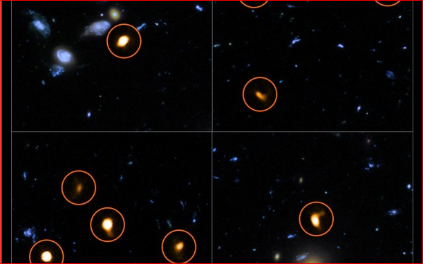 ALMA explore le champ ultra profond de Hubble 160923084942206075