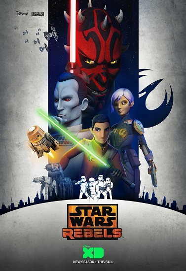 Star Wars: Rebelianci / Star Wars: Rebels {Sezon 3} (2016)