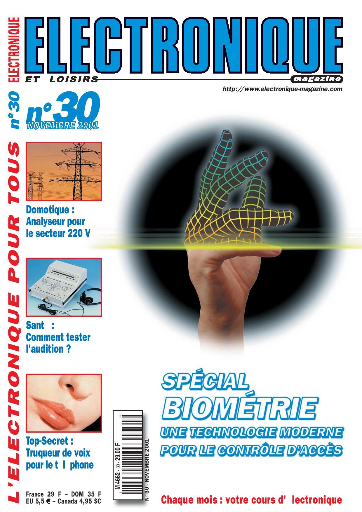 Electronique et Loisirs Magazine N°30