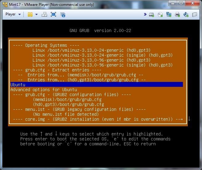 supergrub2 disk menu 1