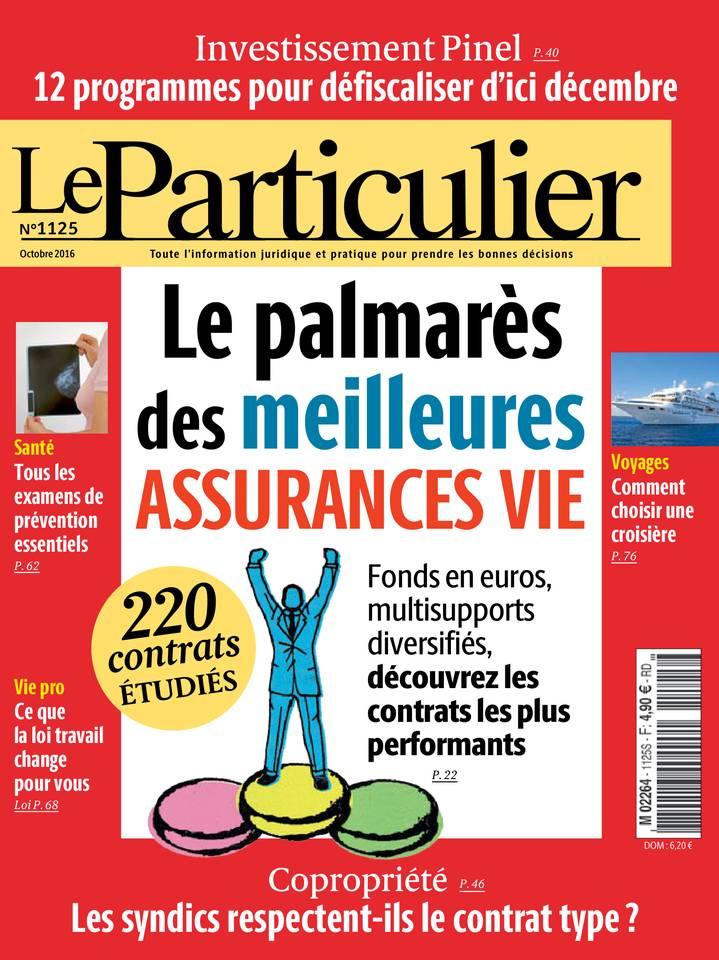 Le Particulier - Octobre 2016