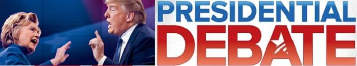Poster for 2016 US Presidential Debate