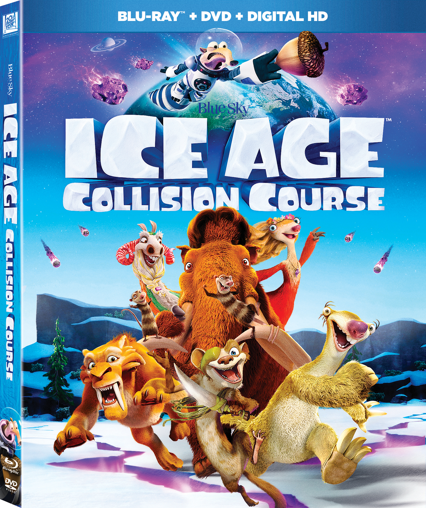 Ice Age: Collision Course (2016) poster image