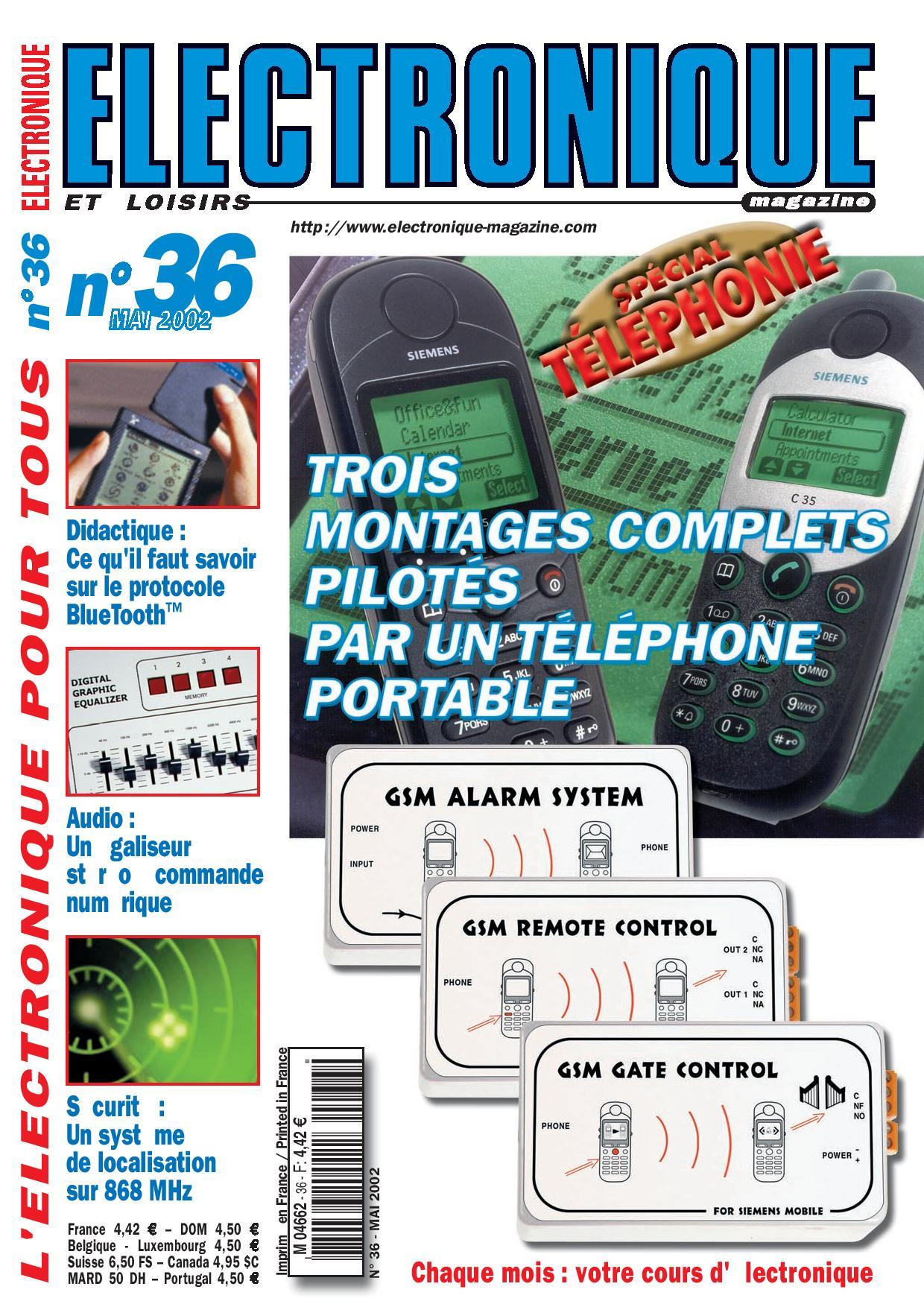 Electronique et Loisirs Magazine N°36