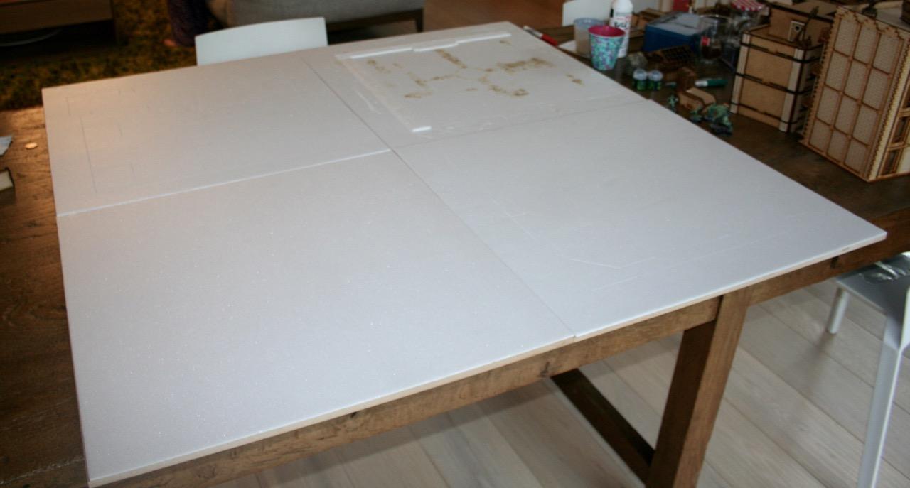 L'atelier de Lien : début de tables Gotham.. 161009114026145817