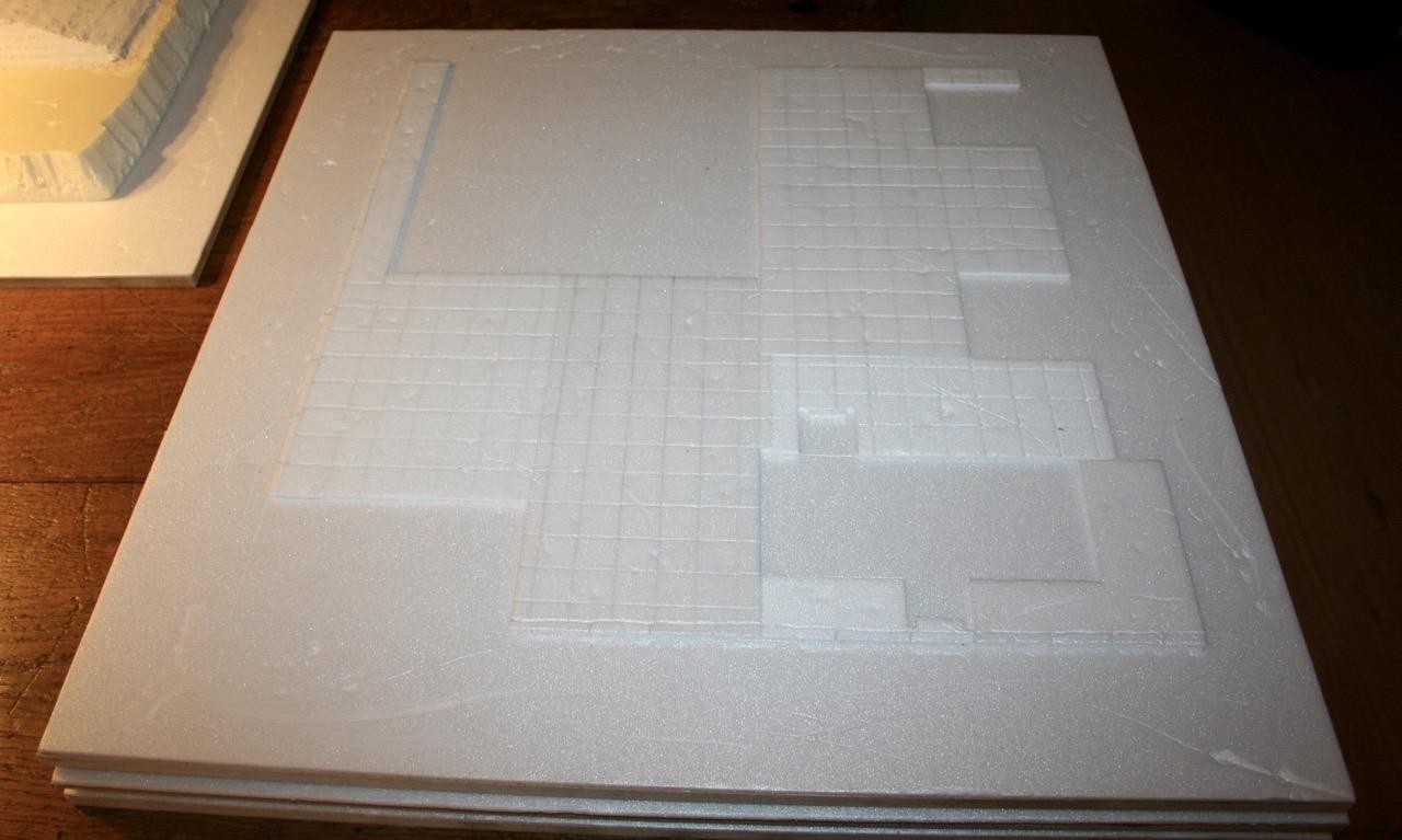 L'atelier de Lien : début de tables Gotham.. 161009114218290674