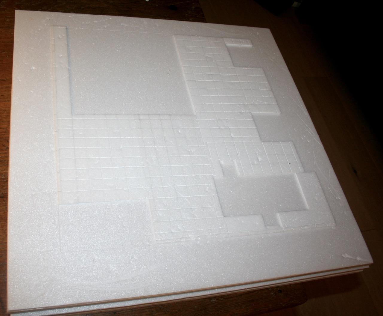 L'atelier de Lien : début de tables Gotham.. 16100911422020561