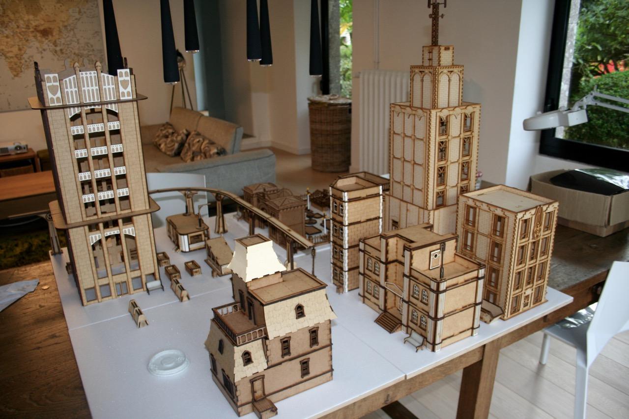 L'atelier de Lien : début de tables Gotham.. 161009114945836366