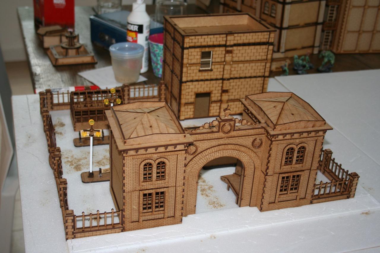 L'atelier de Lien : début de tables Gotham.. 161009114946219582