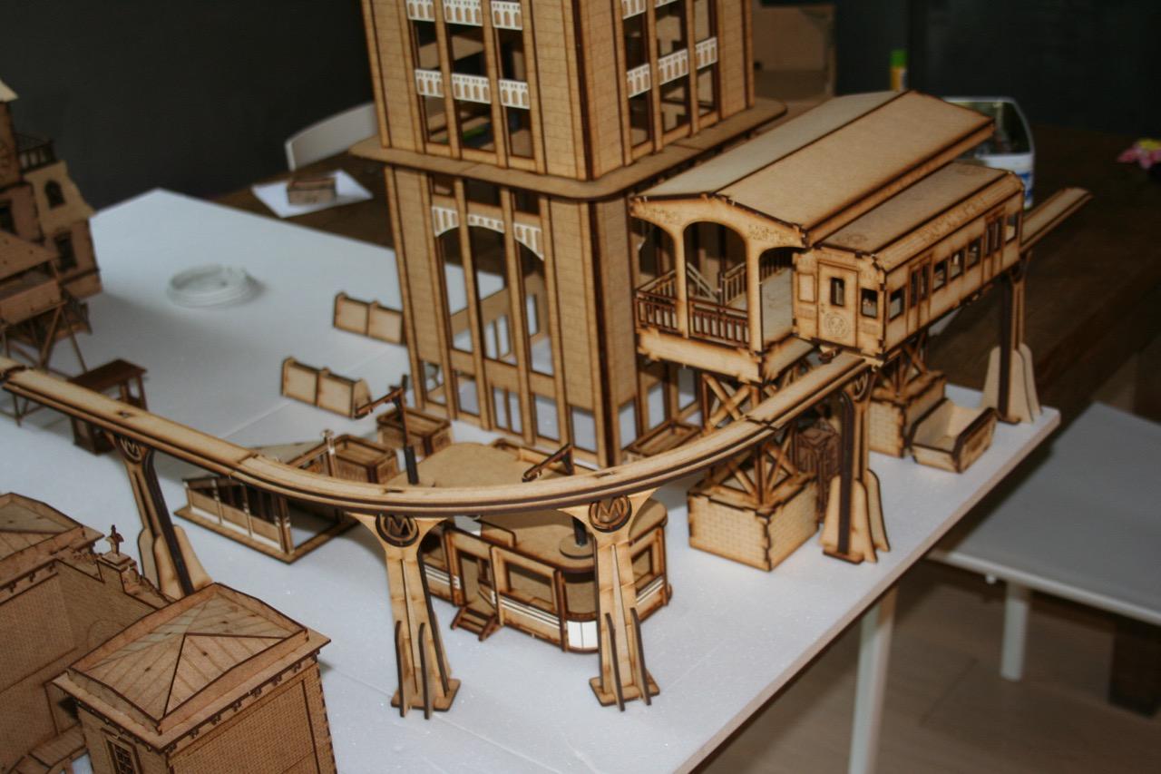 L'atelier de Lien : début de tables Gotham.. 161009115000595925
