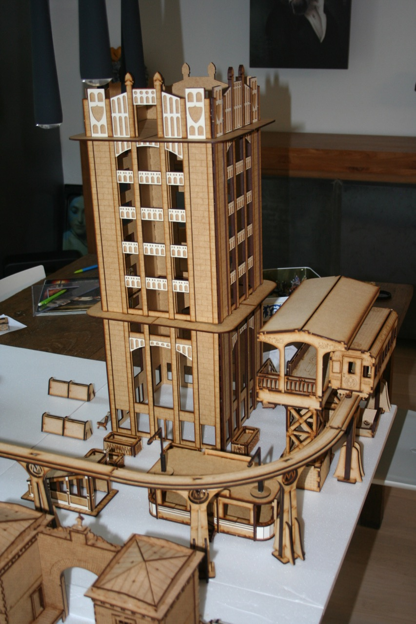 L'atelier de Lien : début de tables Gotham.. 161009115004608191