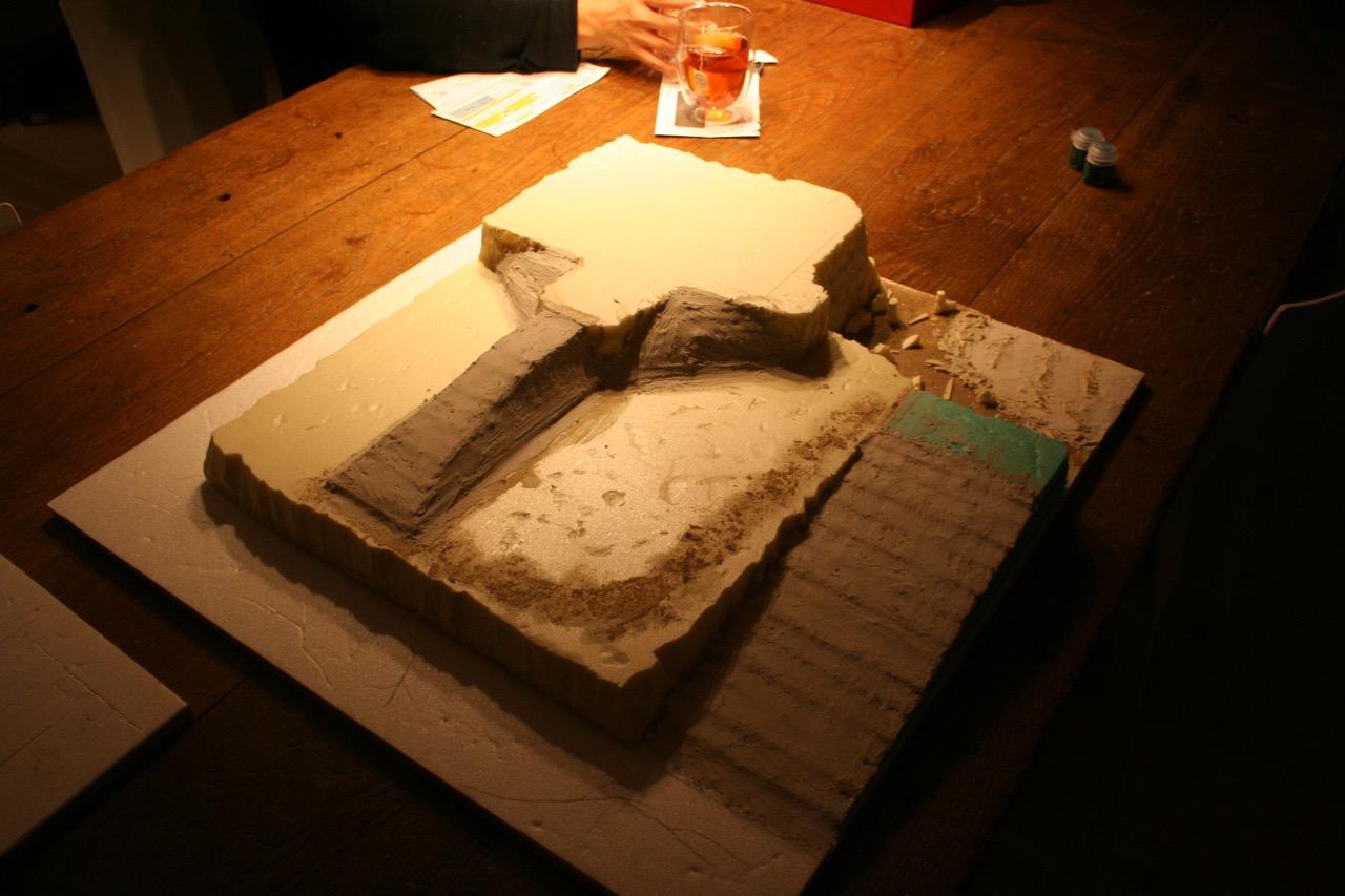 L'atelier de Lien : début de tables Gotham.. 161009115736927298