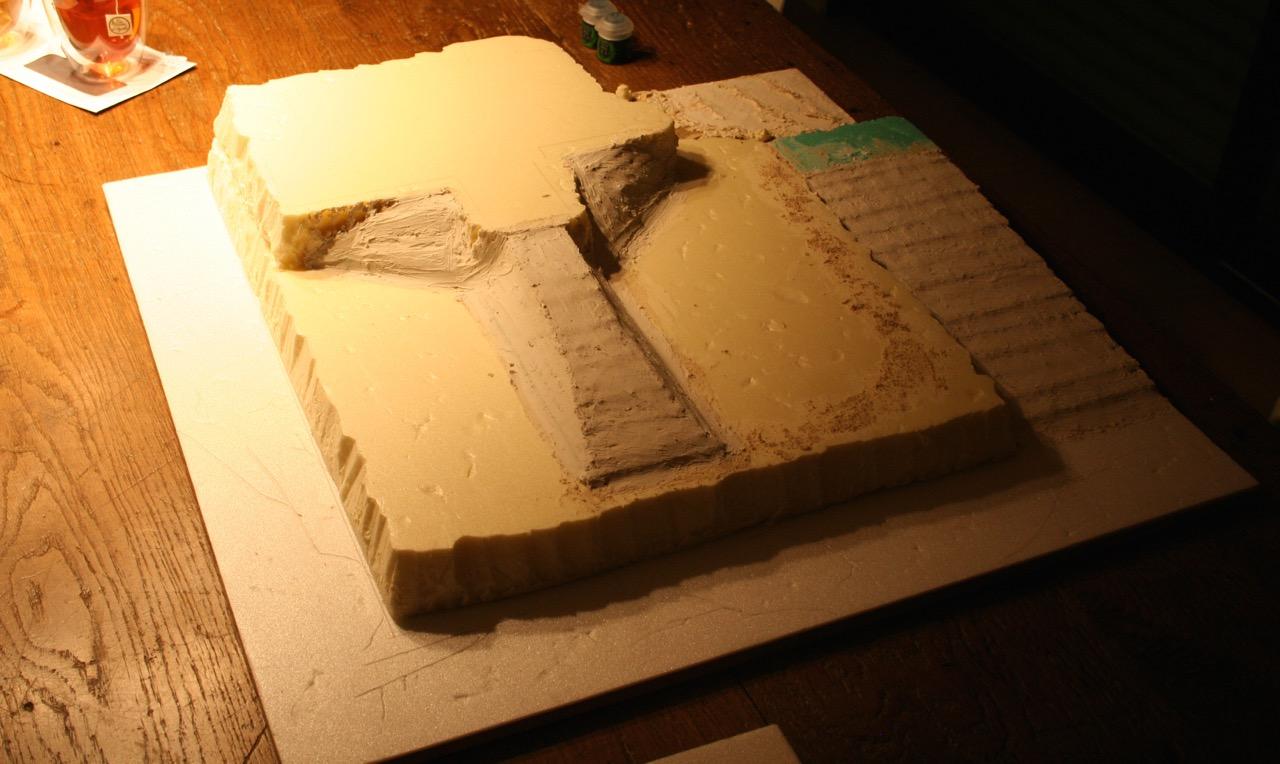 L'atelier de Lien : début de tables Gotham.. 161009115737753810
