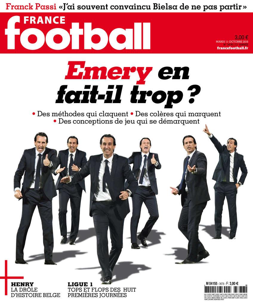 France Football N°3676 - 11 Octobre 2016