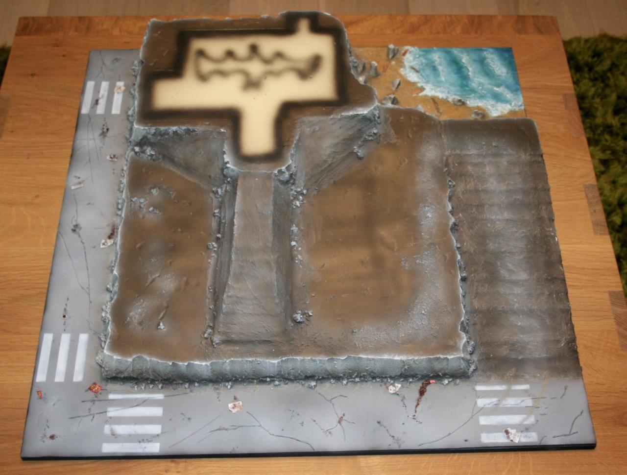 L'atelier de Lien : début de tables Gotham.. 161010120850295568