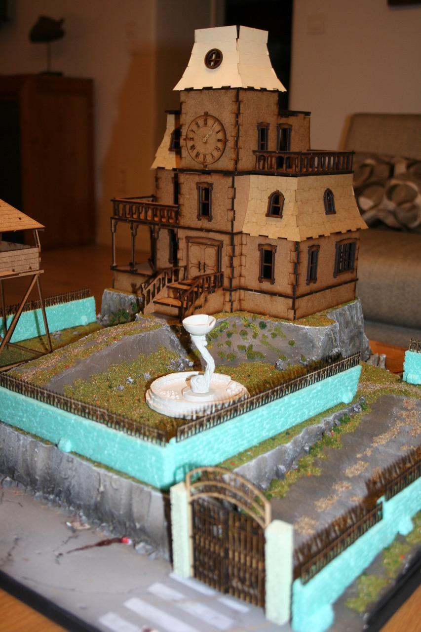 L'atelier de Lien : début de tables Gotham.. 161010121348538913