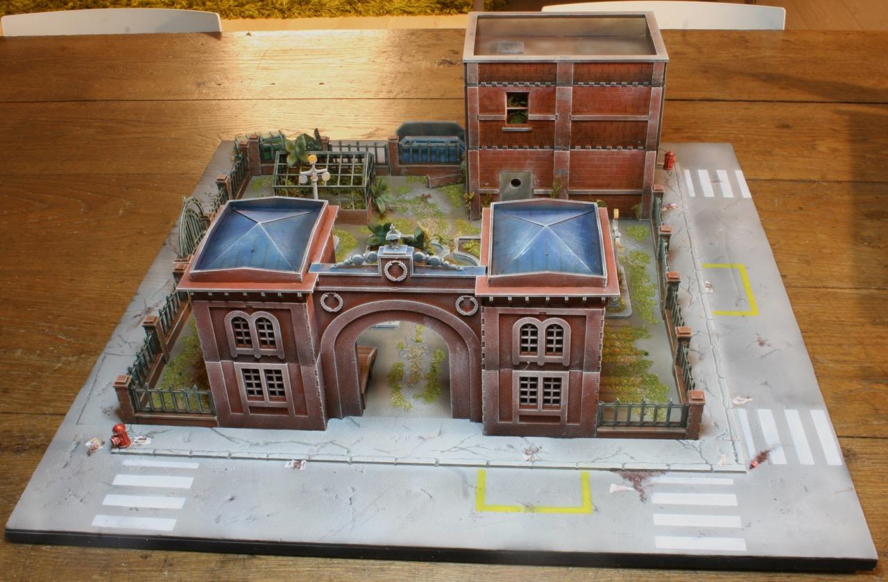 L'atelier de Lien : début de tables Gotham.. 161010121724701658