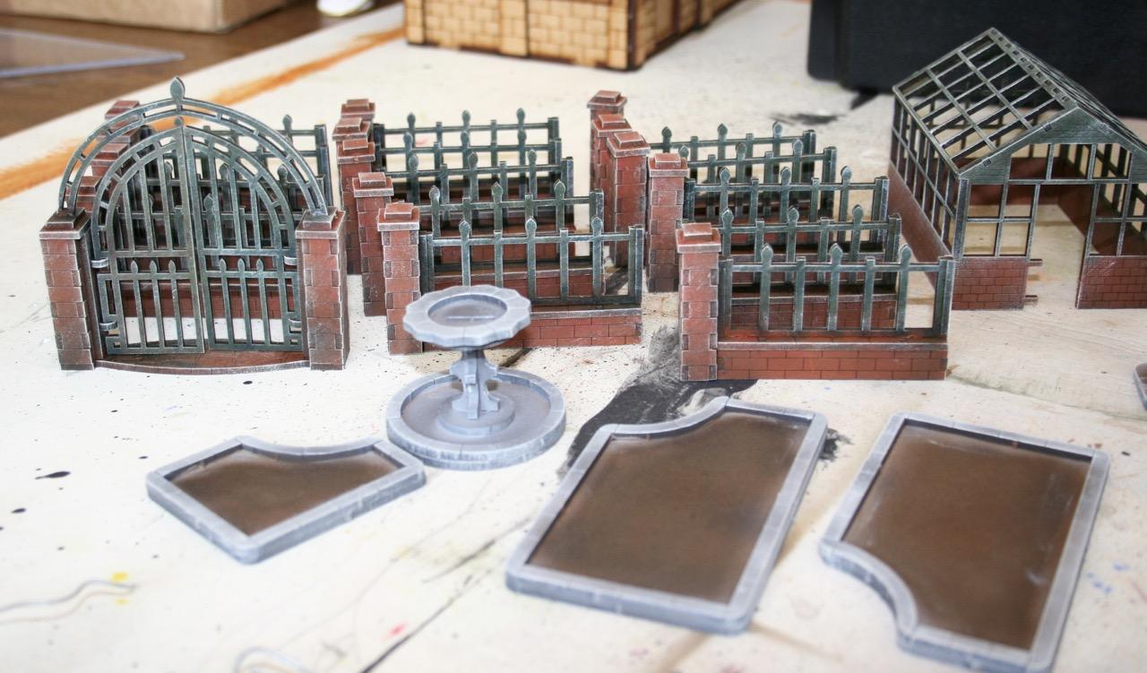L'atelier de Lien : début de tables Gotham.. 161010122201137669