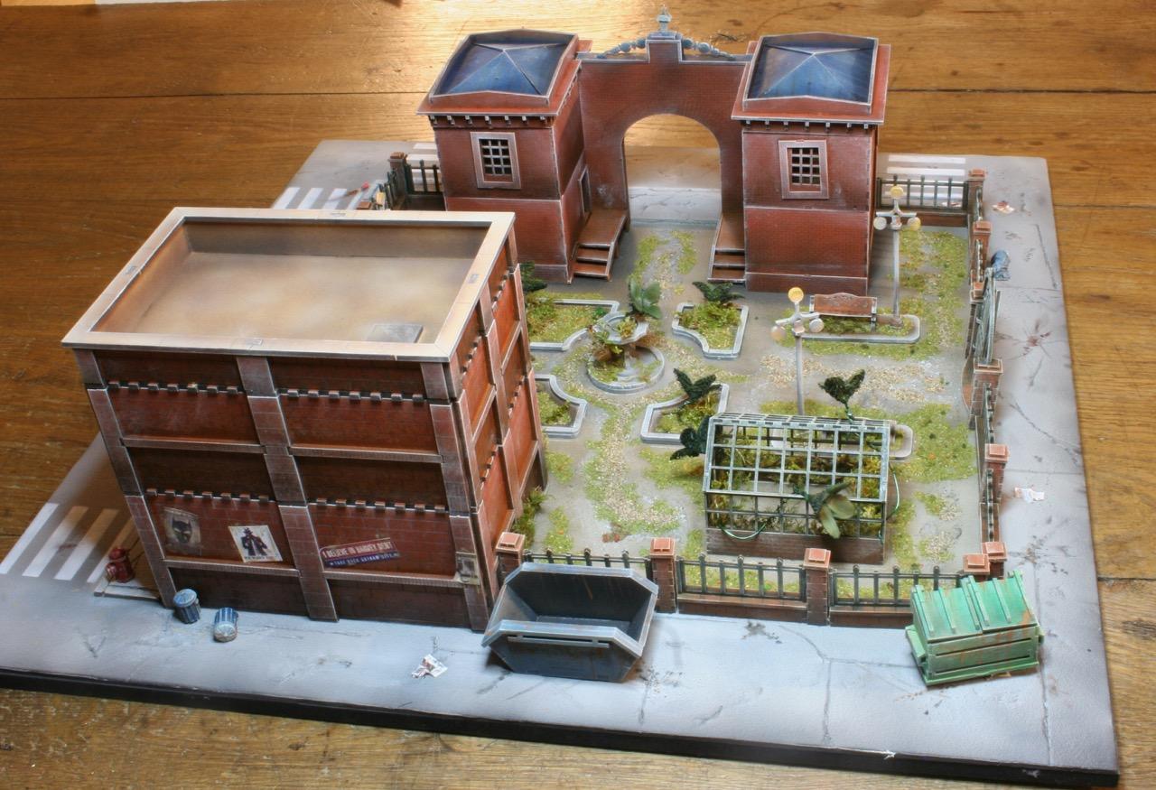 L'atelier de Lien : début de tables Gotham.. 161010122511118591