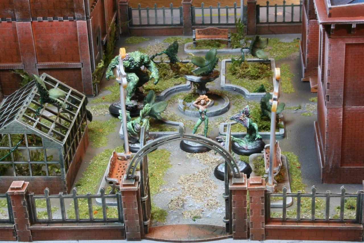 L'atelier de Lien : début de tables Gotham.. 161010122514157642