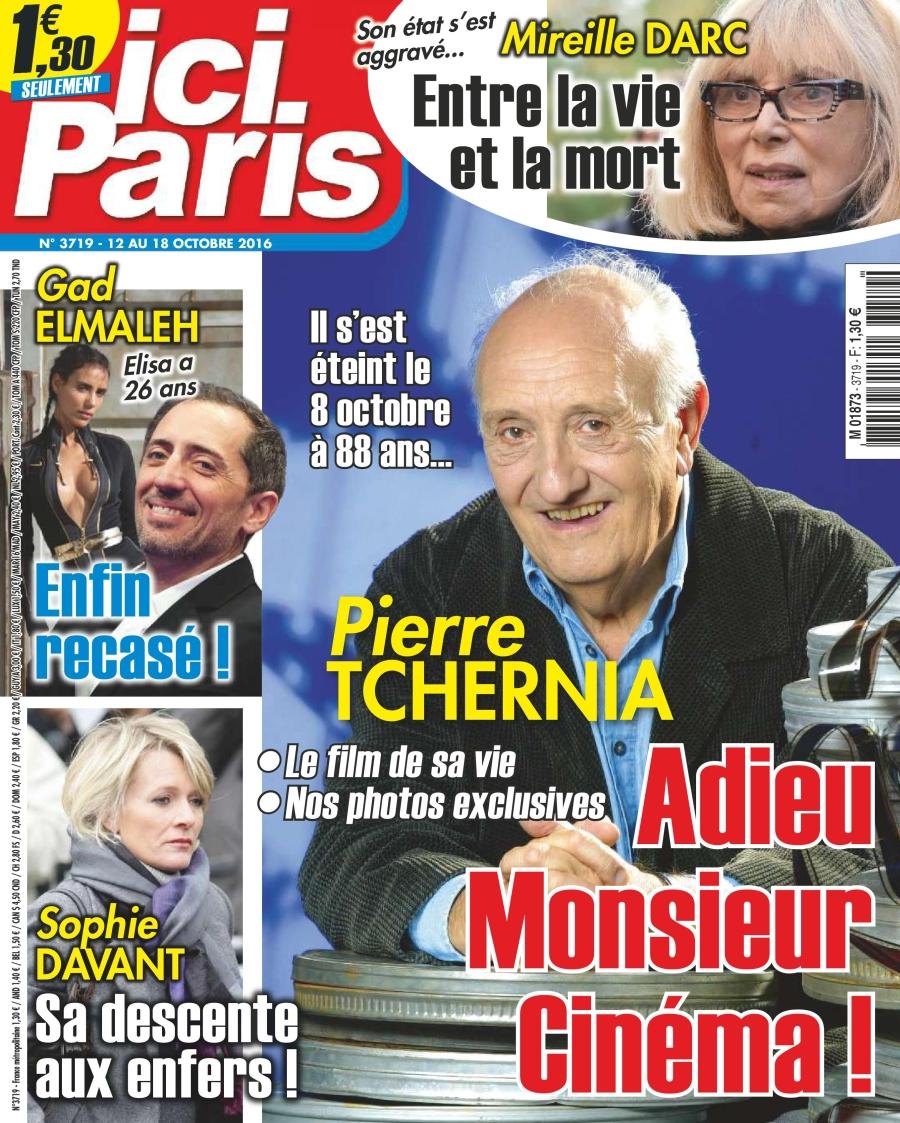 Ici Paris N°3719 - 12 au 18 Octobre 2016