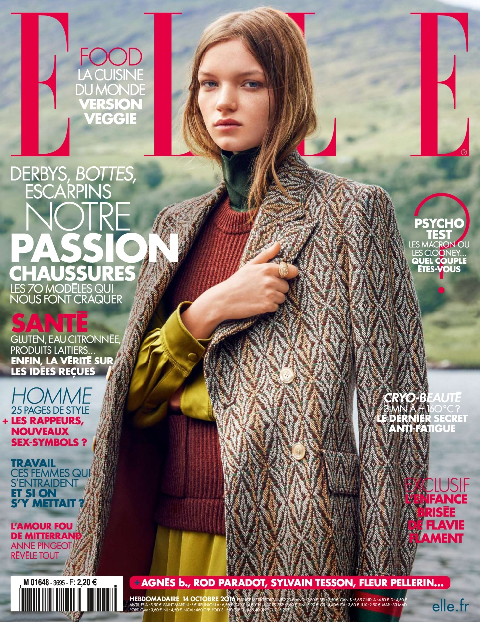 Elle France 3695 - 14 au 20 Octobre 2016