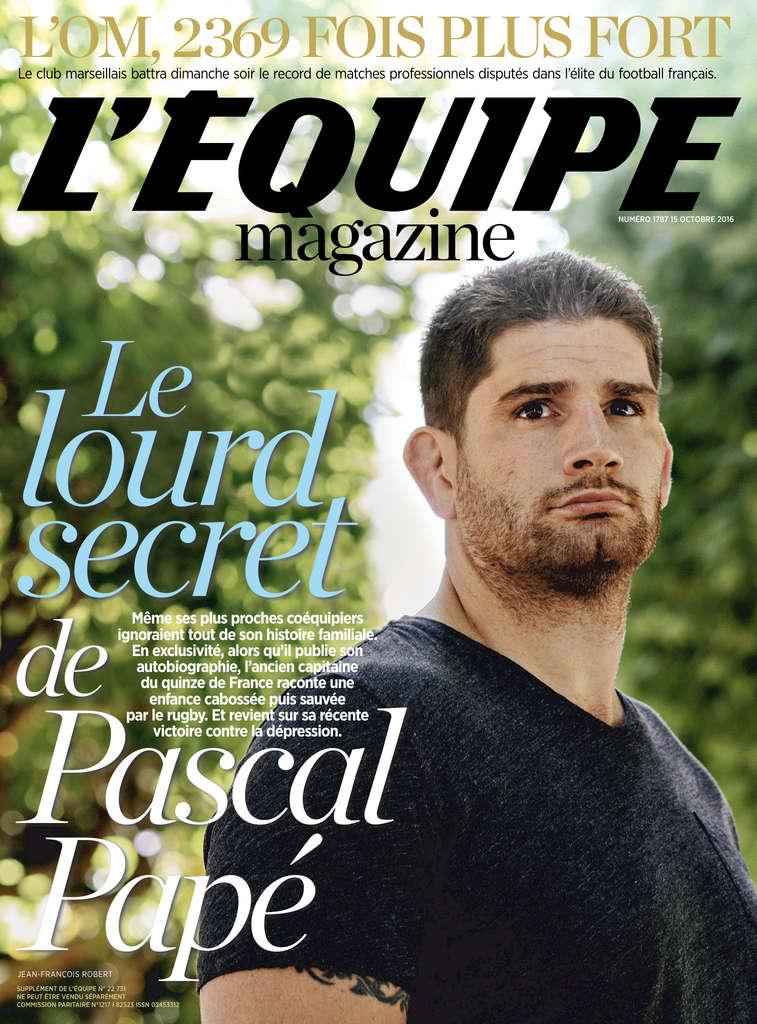 L'Equipe Magazine 1787 - 15 Octobre 2016