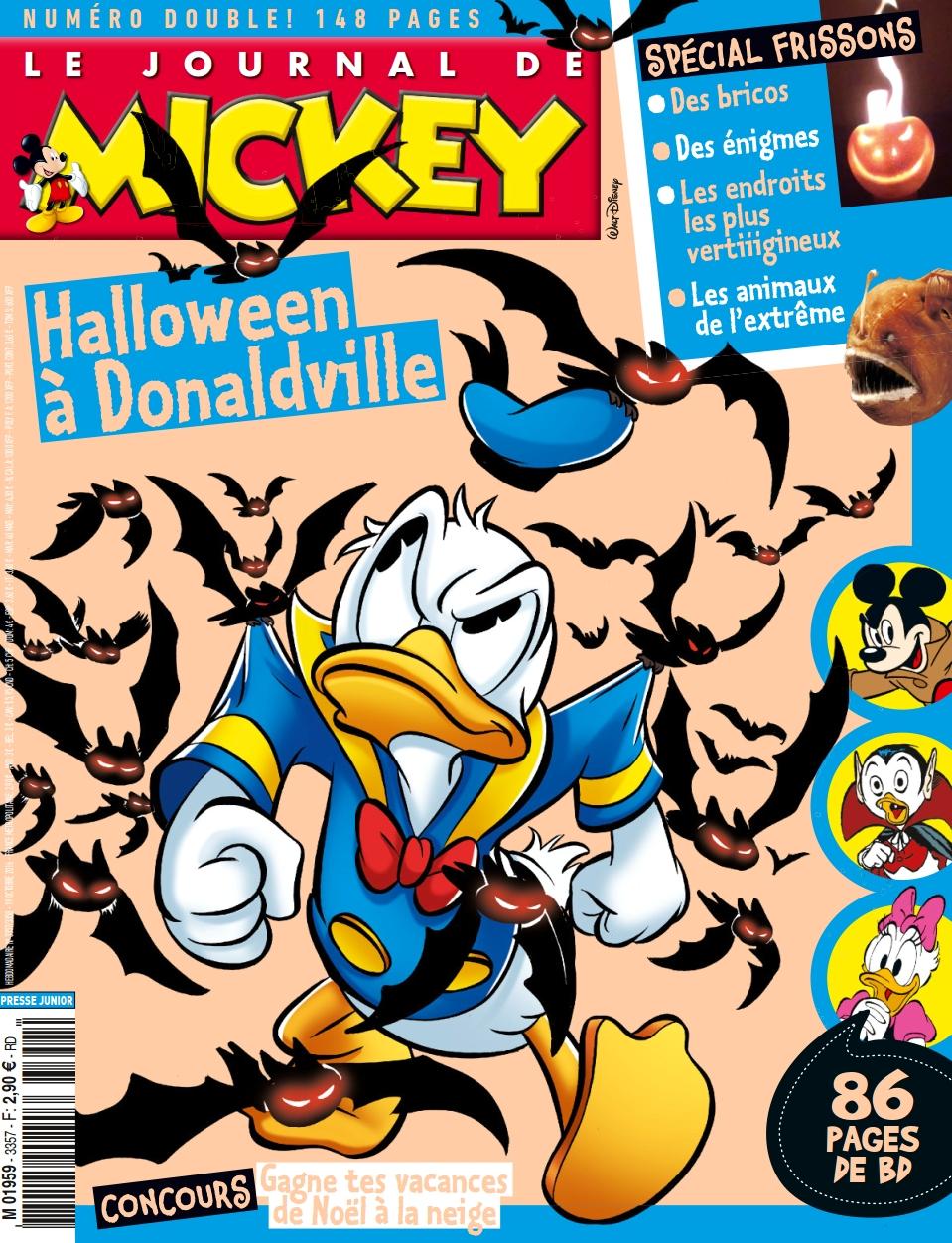 Le Journal de Mickey 3357 - 19 Octobre 2016