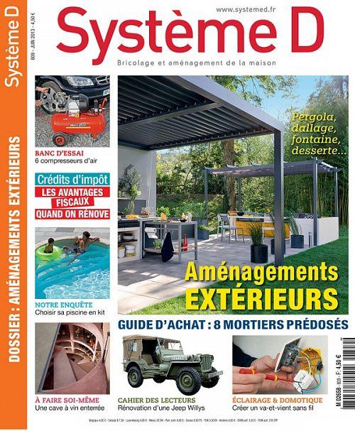 Système D N°809 - Aménagments Extérieurs