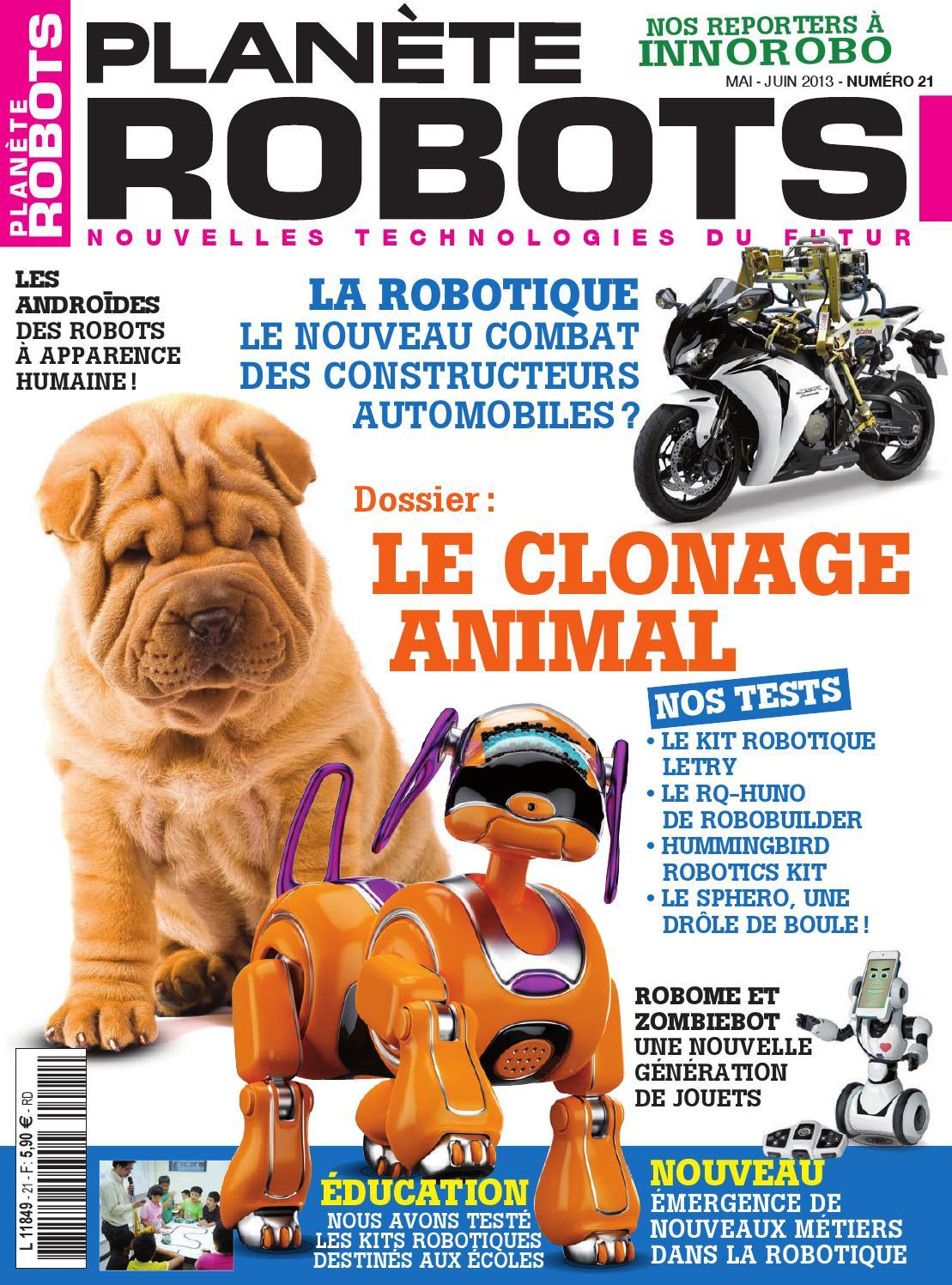 Planète Robots N°21 - Le Clonage Animal