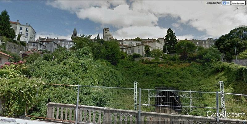 Entrer sud d'Angoulème