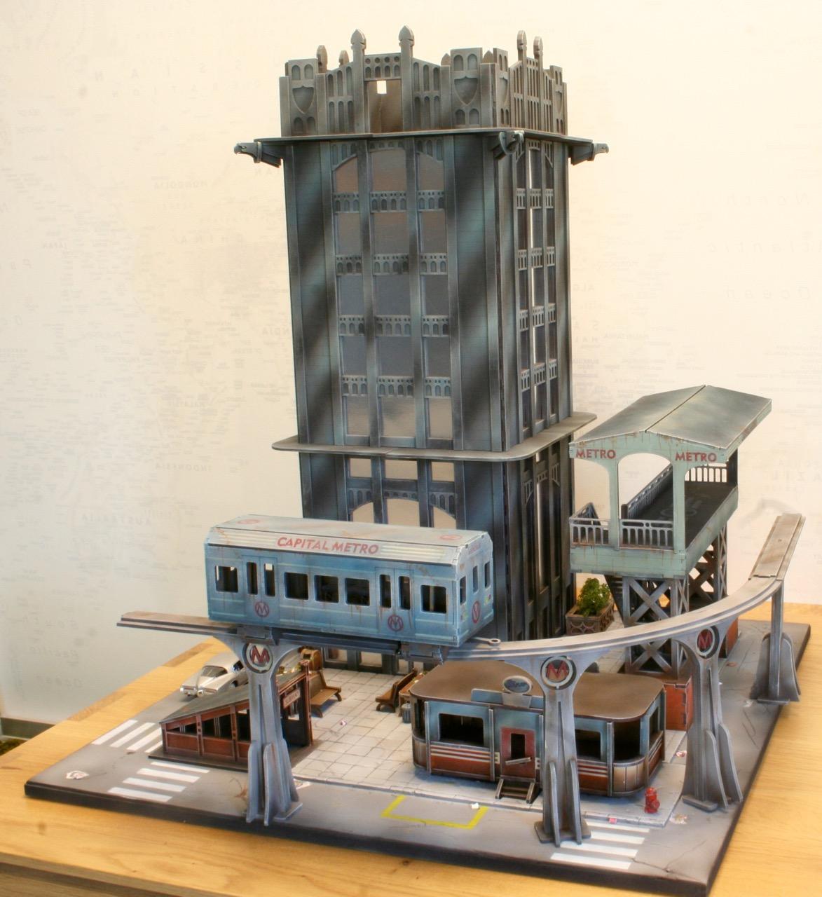 L'atelier de Lien : début de tables Gotham.. 161016035459626121