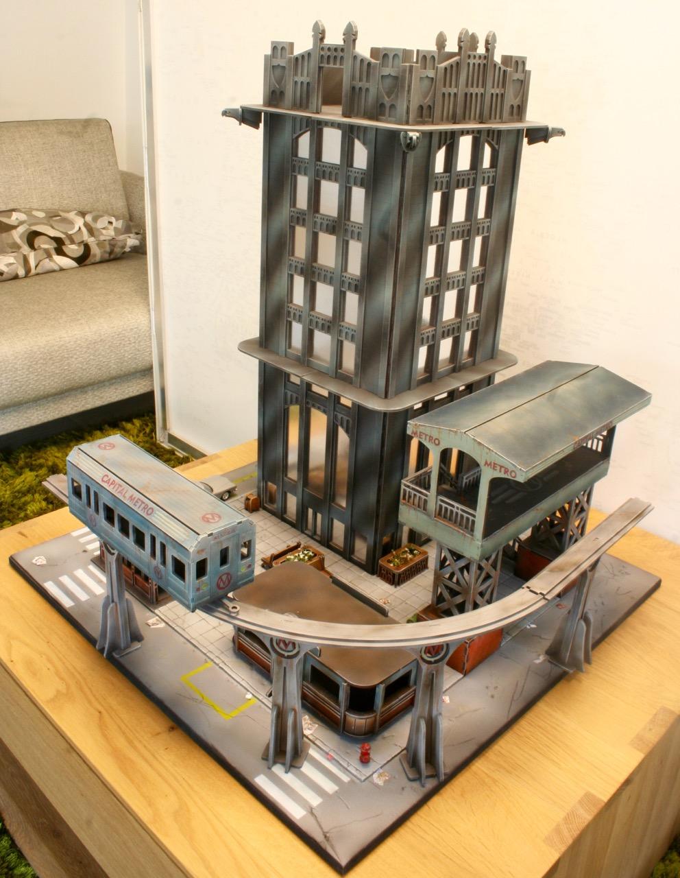 L'atelier de Lien : début de tables Gotham.. 161016035500788317