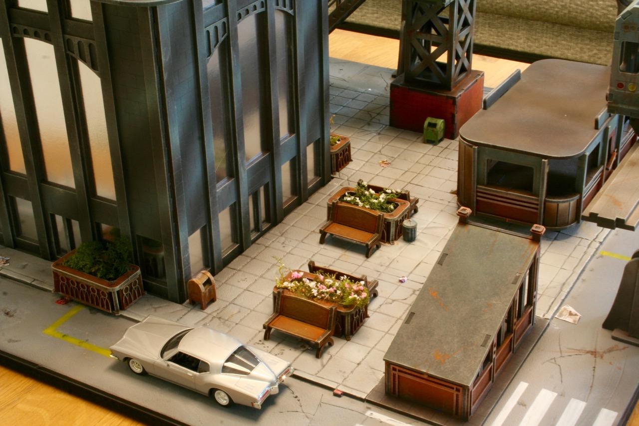 L'atelier de Lien : début de tables Gotham.. 16101603550375582